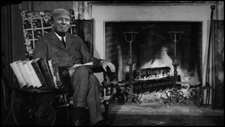 Their old fireside-chatbromance?