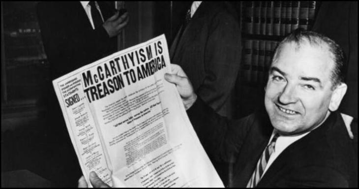 McCarthyism is treason BORDER