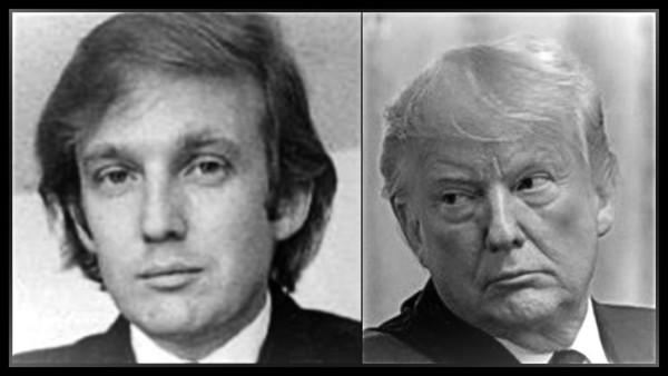 Real Trump original and fake LIGHT VIGNETTE 600 hgeavy border