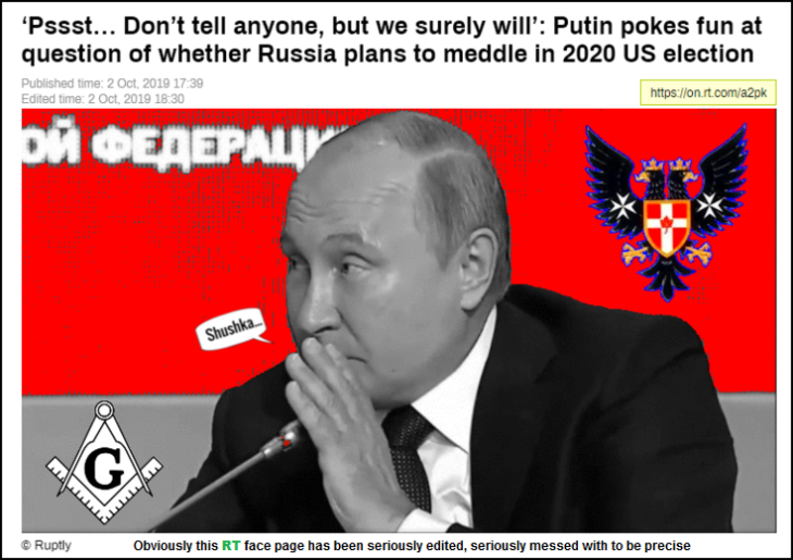 RT Putin Russian interference face p[age EDITED