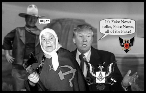 FAKE NEWS trump-prussian-eagle-john-wayne-blyat-no-collusion Masonic Eagle 560