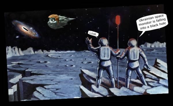 MARS MOON Astronauts UKRAINIAN Space Monster 600