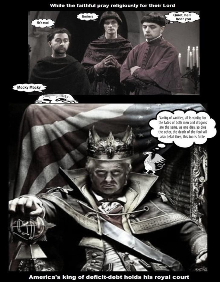 Trump mad king adjusted WIDE