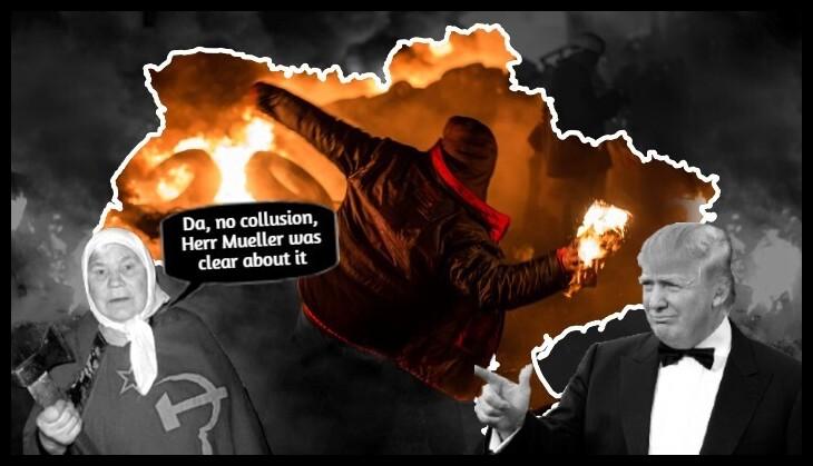 AAA BEST TRUMP RUSSIAN LADY Ukraine Mueller DA no collusion 730