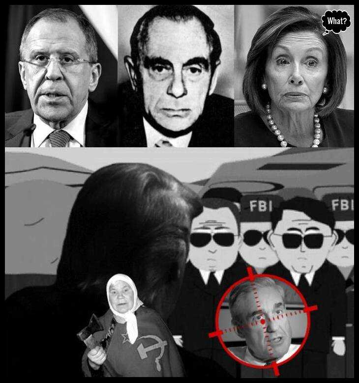 Lavrov odessa-ss-kutschmann-Pelosi Russian Lady Trump Mueller FBI low quality