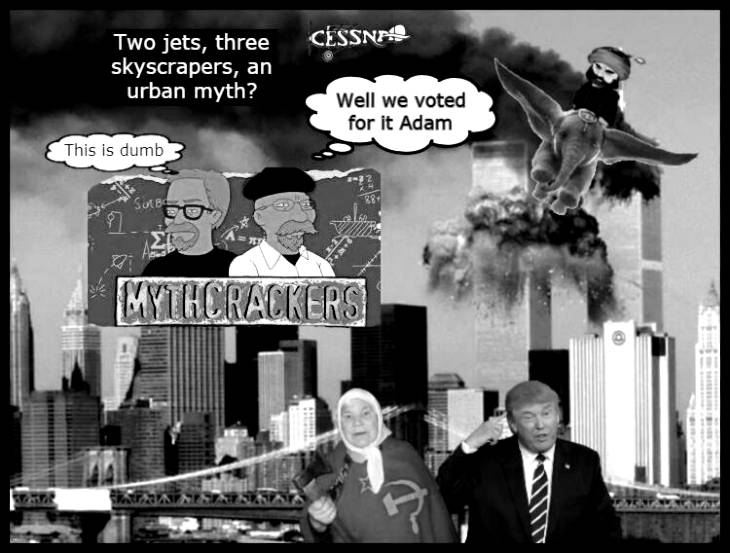Mythbusters, 2 jets, 3skyscrapers?