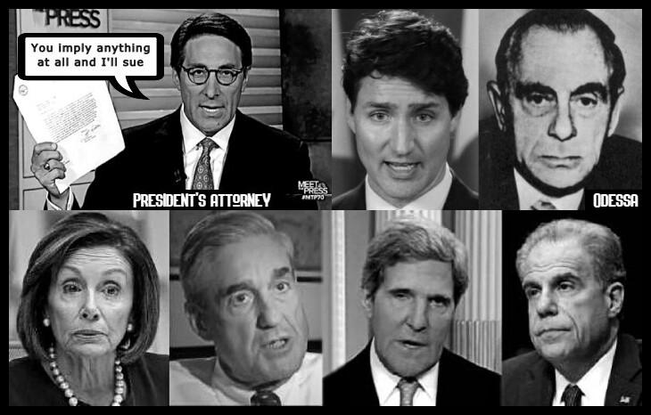 Jay Sekilow president's attorney I'LL SUE Treadreu Canadian Odessa Kutschmann Pelosi Mueller Faux Kerry Horowitz 730