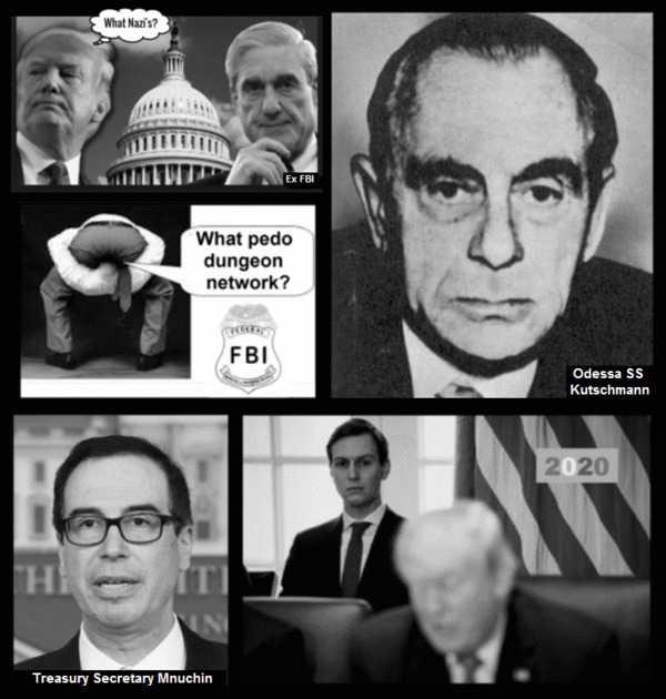 Kutschman Mnucchin Mueller Nazi Faux Trump