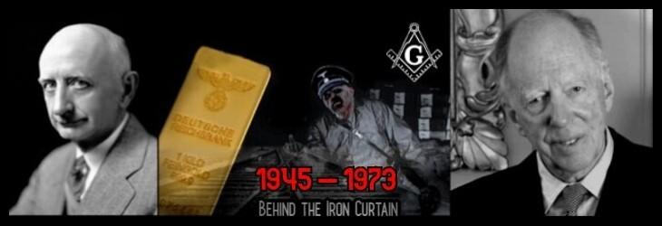 AAA Nazi Gold Iron Curtain Rothschild Black 45-73 730 BORDER LQ