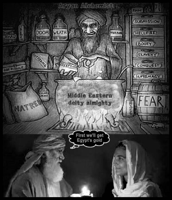 Aryan Alchemist Abram Sarah Egypt's gold 600 MQ