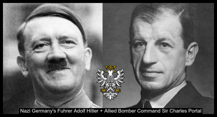 Hitler and Air Vice Marshall POrtal Treason Prussian Eagle 730 BORDER0
