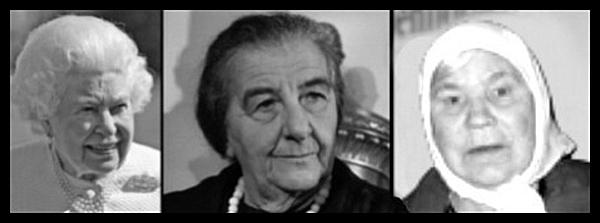 Queen Golda Meir Russian LaDY TRump mother 600 BORDER