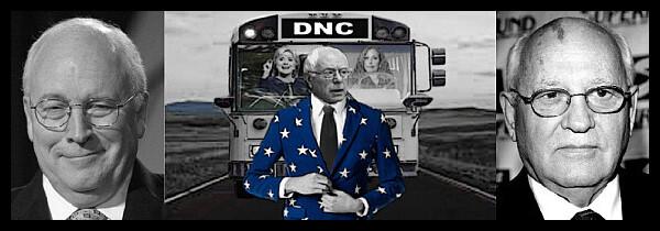 The Cheney Burnie Gorbachev BUS 600 BORDER