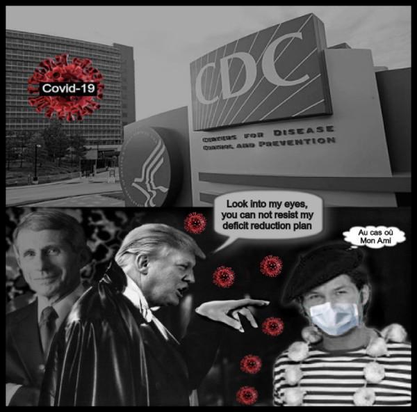 Trump Count DRacula Coronavirus French guy mask CDC Fauci garlic JUST IN CASE 600