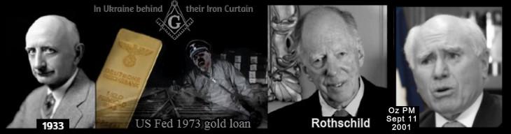 NAZI GOLD Ukraine Black Rothschild Iron Curtain 730